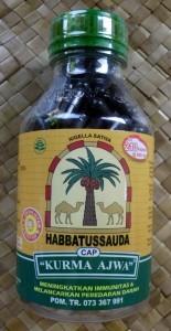 """Habbatussauda cap """" Kurma Ajwa"""""""