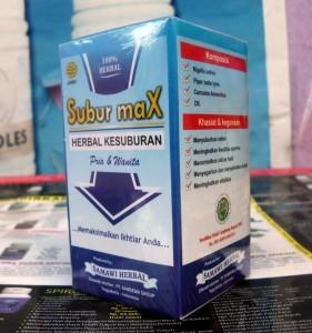 Subur max (herbal kesuburan)