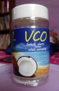 VCO – virgin coconut oil