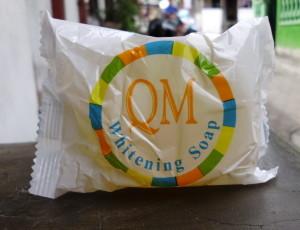 QM Whitening Soap (sabun pemutih)