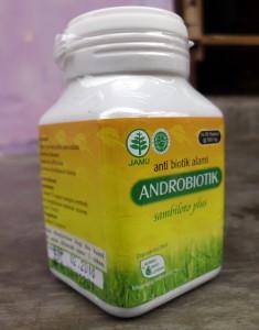 ANDROBIOTIK   Antibiotik Alami