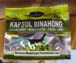 Kapsul Binahong (kemasan sachet)