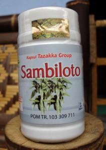 Kapsul Sambiloto Tazakka - toko almishbah5