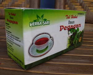 Teh Herbal Daun Pegagan