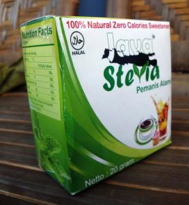 Java Stevia (pemanis alami)
