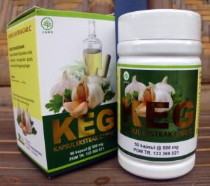 KEG (Kapsul Ekstrak Garlic)