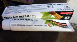 pasta gigi herbal HPAI - toko almishbah7