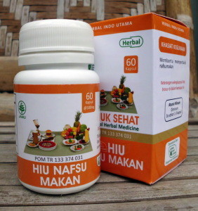 Hiu Nafsu Makan – Herbal Indo Utama