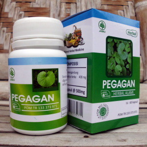 Kapsul Pegagan Herbal Indo Utama