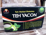 TEH YAKON – teh herbal diabetes