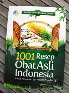 1001 resep Obat Asli Indonesia
