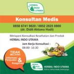 Konsultasi Medis Produk Herbal Indo Utama