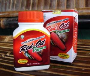 Red Oil Papua, Kapsul Minyak buah Merah